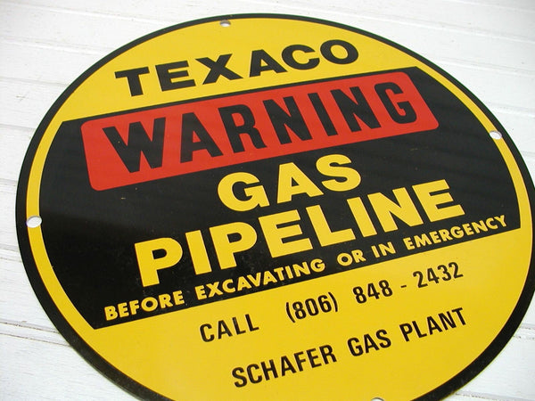 Gas Sign - Oil Sign - Texaco Sign - Warning Sign - Man Cave Sign - idugitup