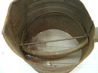 Vintage Primitive Tin Sifter - Rusty Rescue - Perfectly Primitive - Unique Design - idugitup