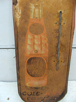 Vintage Tin Advertising Thermometer - Tru Ade - Soft Drink - Soda Advertising - idugitup