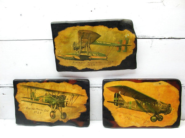 Vintage Airplane Pictures - Airplane Decor - Airplane Theme Kids Room - idugitup