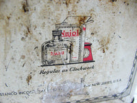 Vintage Nujol Gallon Can - Advertising Tin - Stanco Co New Jersey - Medical Snake Oil - idugitup