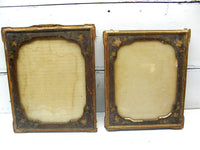 Antique Picture Frame Set - Victorian Picture Frames - Shabby Frames - idugitup