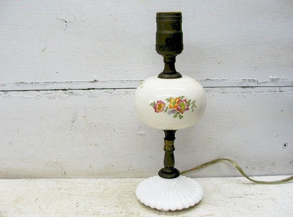 Vintage Nursery Lamp - Table Lamp - Petite Lamp - Childs Lamp - Cottage Lamp - idugitup