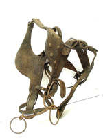 Vintage Bridle With Blinders and Bit - Parade Horse Tack Mule Plow - Cowboy Decor, - idugitup