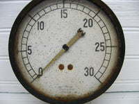 Industrial Gauge - Steam Pressure - Jas P Marsh Chicago - Ship Train Gauge -Steampunk Large Gauge - idugitup