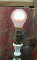 Vintage Nursery Lamp - Table Lamp - Petite Lamp - Childs Lamp - Shabby Lamp - idugitup