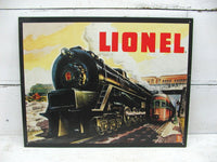 Lionel Trains Sign - 5200 Train Collector - Train Decor - idugitup
