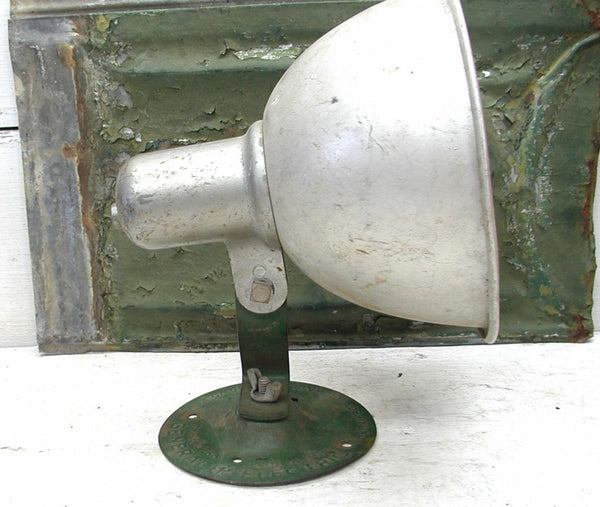 Vintage General Electric Utility Lamp - GE Flood Light - Industrial Lamp Project - idugitup