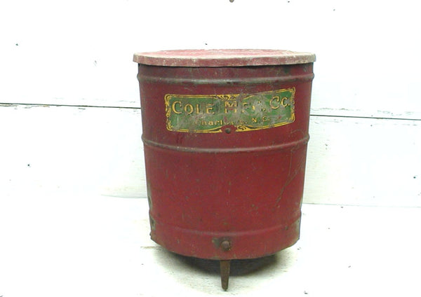 Vintage Cole Seed Planter - Cole Mfg Charlotte NC - Cole Hopper - Cole Planter Parts - idugitup