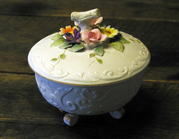 Vintage Lefton Candy Dish - KW3781 - Japan ~ - idugitup