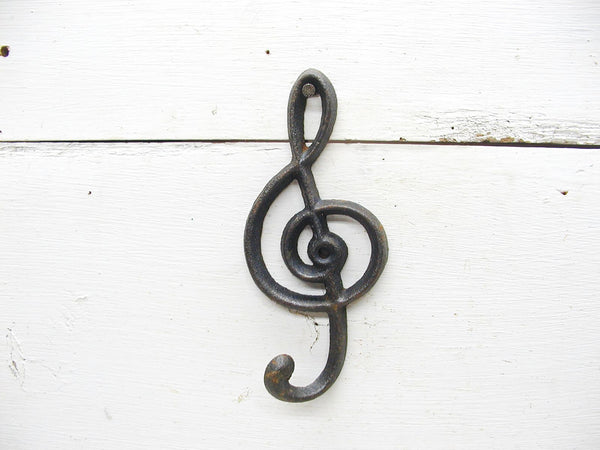 Music Lover Gift - Music Theme Wall Hook- Unique Musician Gift
