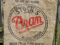 Burlap Sack Stocks  and Sons DIY Primitive Project Upcycle Feed Sack