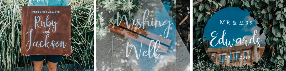 Wedding Signs Inspiration