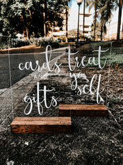 Custom Cards and Gifts Table Signs Australia