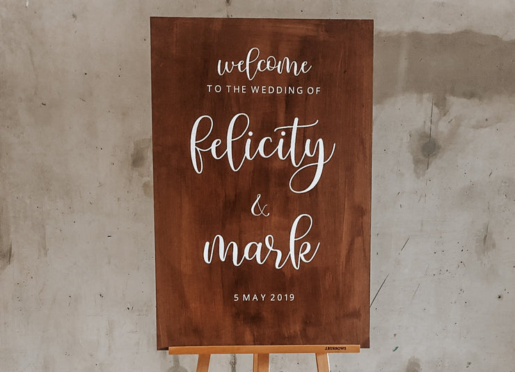 Buy Custom Wooden Welcome Signs