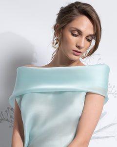 Two Piece Off-the-Shoulder Top & Skirt - Sandy Nour