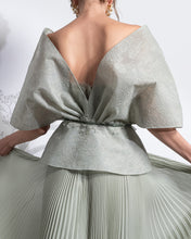 Load image into Gallery viewer, Two Piece Dress & Jacket Pleated Dress