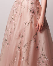 Load image into Gallery viewer, Essential Bloom - Hand Embroidered Organza Dress