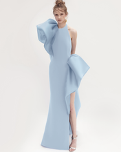Load image into Gallery viewer, Head in The Clouds - Halter Neck Ruffled Dress