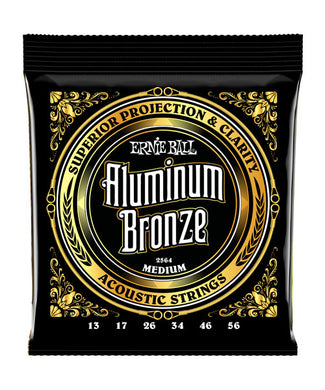 Ernie Ball Encordadura Guitarra Acústica 2564 Medium Aluminum Bronze