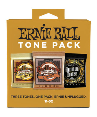 Ernie Ball Encordadura Guitarra Acústica 3314 Tone Pack Light