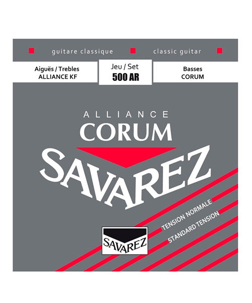 Savarez Encordadura Para Guitarra Clásica (Tensión Normal) 500AR Alliance Corum