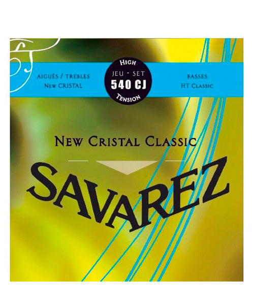 Savarez Encordadura Para Guitarra (Tensión Alta) 540CJ New Cristal
