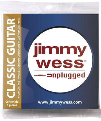Jimmy Wess Encordadura para Guitarra Clásica JWGS-900 Nylon