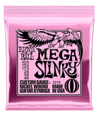 Ernie Ball Encordadura Guitarra Eléctrica 2213 Mega Slinky Nickel Wound