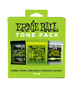 "Ernie Ball Encordaduras ""Regular Slinky Tone Pack"" 3331, Guitarra Eléctrica, 10-46, 3 Piezas"