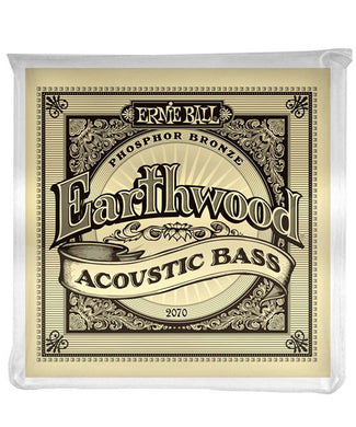 Ernie Ball Encordadura Bajo Acústico 2070 Earthwood Bronze Fosforado