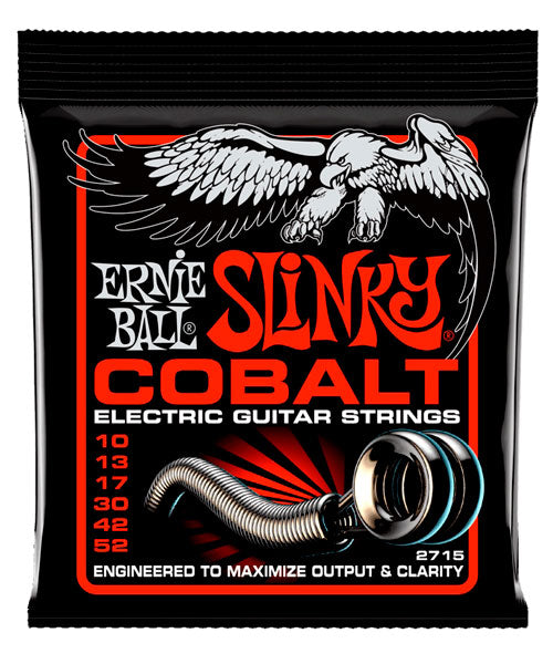 Ernie Ball Encordadura Guitarra Eléctrica 2715 Skinny Top Heavy Bottom Cobalt