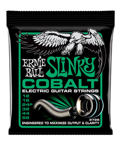 Ernie Ball Encordadura Guitarra Eléctrica 2726 Not Even Slinky Cobalt