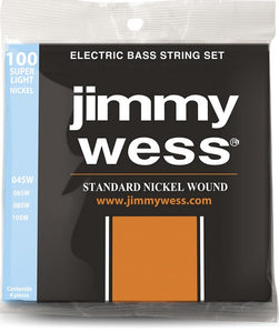 Jimmy Wess Encordadura para Bajo Eléctrico 100SL Nickel