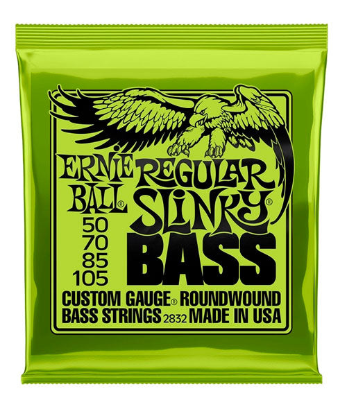 Ernie Ball Encordadura Bajo Eléctrico 2832 Regular Slinky Nickel Wound