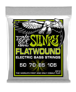 Ernie Ball Encordadura Bajo Eléctrico 2812 Regular Slinky Flatwound