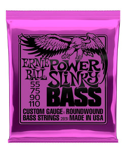 Ernie Ball Encordadura Bajo Eléctrico 2831 Power Slinky Nickel Wound