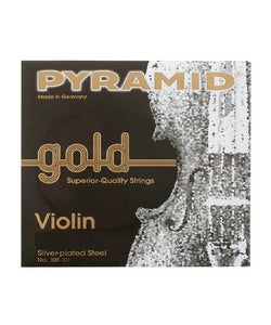 Pyramid Encordadura Para Violín 4/4 108 100 Gold