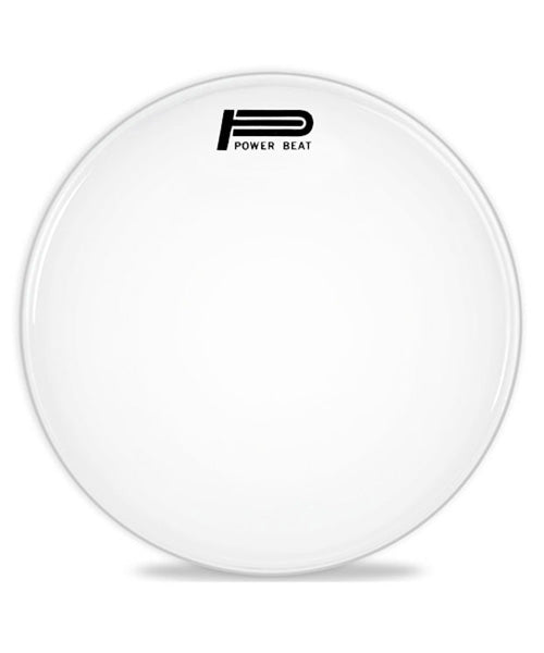 "Powerbeat Parche 18"" Blanco Liso UK-0218-BA-10P"