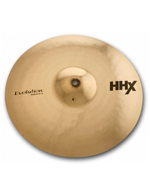 "Sabian Platillo HHX Evolution 16"" 11606XEB Crash"