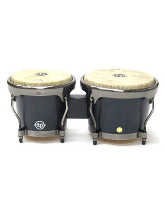 Latin Percussion Bongos Madera Negra Matte LPH601-SBB Aspire Highline