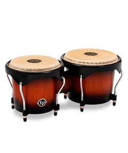 "Latin Percussion Bongos LP601NY-VSB 6"" y 7"" de Madera Sombreado"