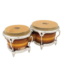 "Latin Percussion Bongos ""Generation II"" LP201AX-2MSB Madera Sombreada Mate"