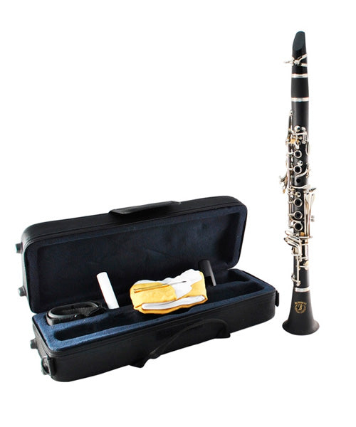 Blessing Clarinete Mi Bemol Con Estuche Ebonite 17 Llaves 6402E-17