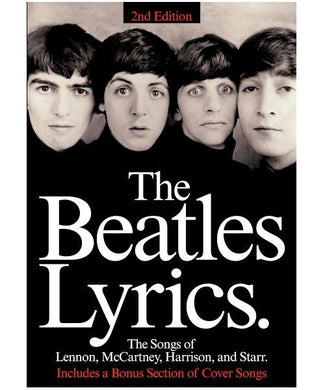 Hal Leonard THE BEATLES LYRICS – 2ND EDITION