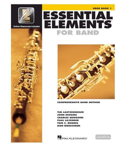 Hal Leonard ESSENTIAL ELEMENTS FOR BAND – OBOE BOOK 1 WITH EEI