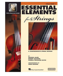 Hal Leonard ESSENTIAL ELEMENTS FOR STRINGS – BOOK 1 WITH EEI VIOLA