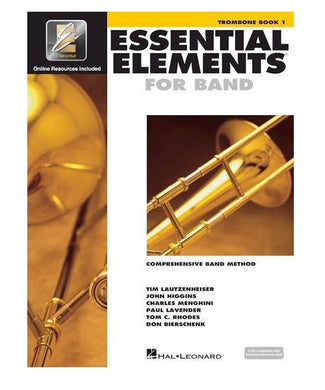 Hal Leonard ESSENTIAL ELEMENTS FOR BAND TROMBONE BOOK 1