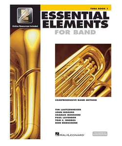 Hal Leonard ESSENTIAL ELEMENTS FOR BAND – TUBA BOOK 1 WITH EEI TUBA