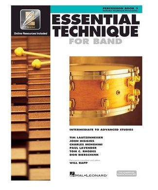 Hal Leonard ESSENTIAL TECHNIQUE FOR BAND WITH EEi: INTERMEDIATE TO ADVANCED STUDIES